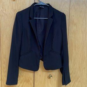 H&M, Black Blazer Jacket, Size 6